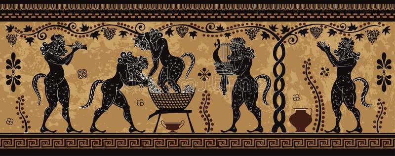 Śródziemnomorska kultura Antycznego Grecja mitologia zdjęcia stock