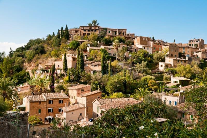 śródziemnomorska wioska obrazy royalty free