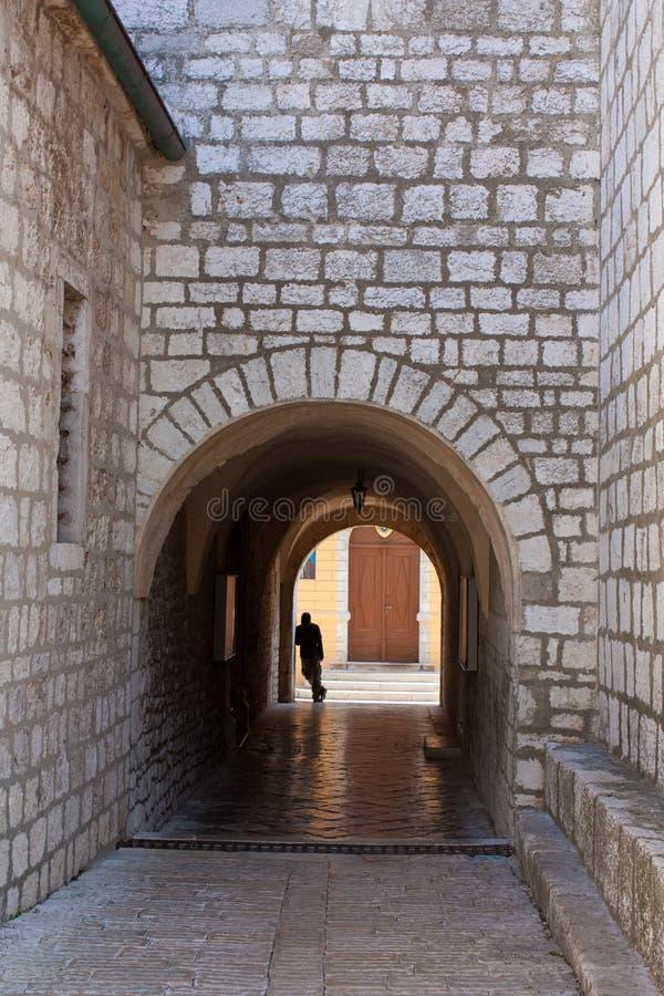 śródziemnomorski bramy miasteczko obrazy stock