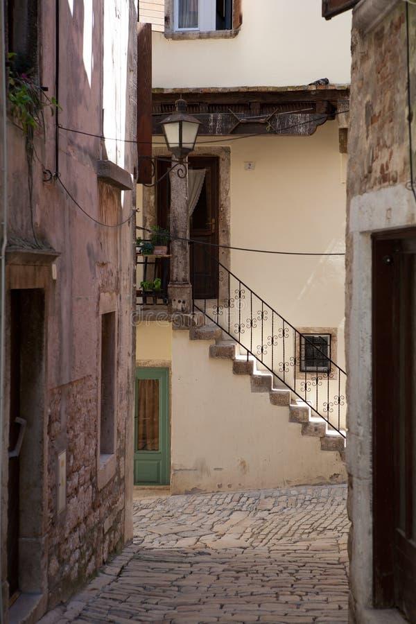 śródziemnomorskie kamienne ulicy fotografia royalty free