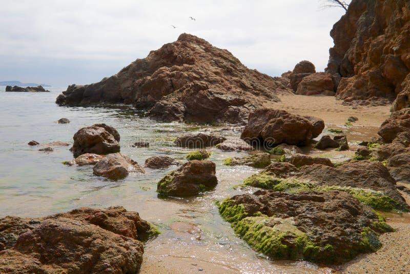 Śródziemnomorskie skały 3 fotografia stock