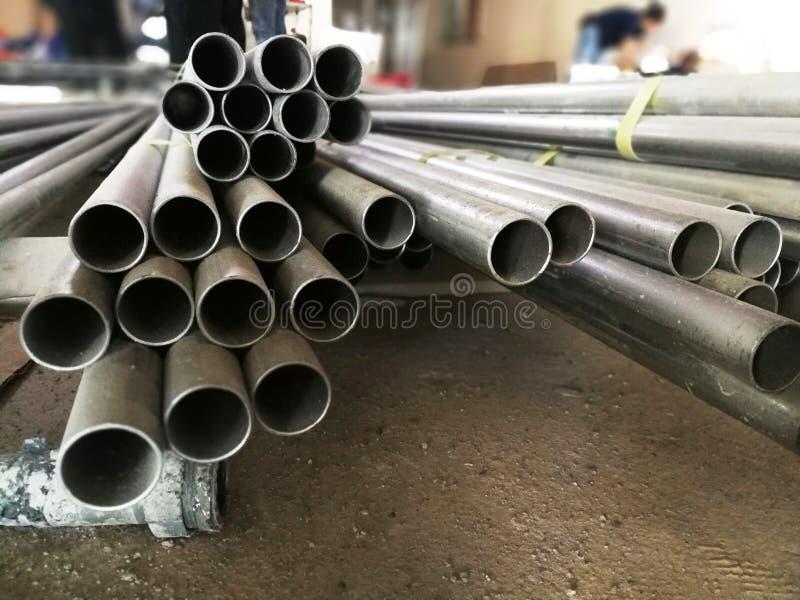 Średni metalu przewód na miejscu zdjęcie royalty free