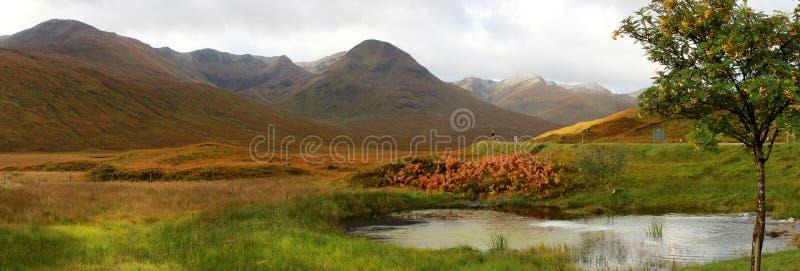 Średniogórza, Szkocja obrazy royalty free