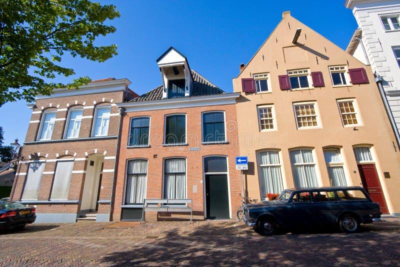 Średniowieczna Holenderska ulica obrazy stock
