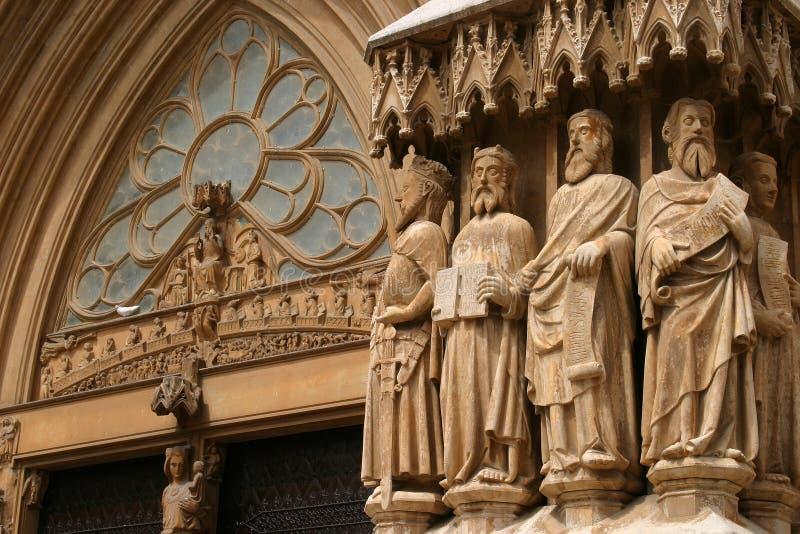 średniowieczna katedry zdjęcia royalty free