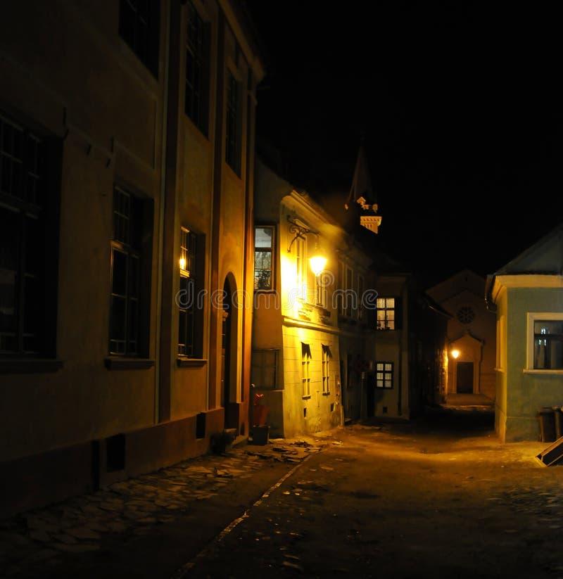 średniowieczna street zdjęcie stock