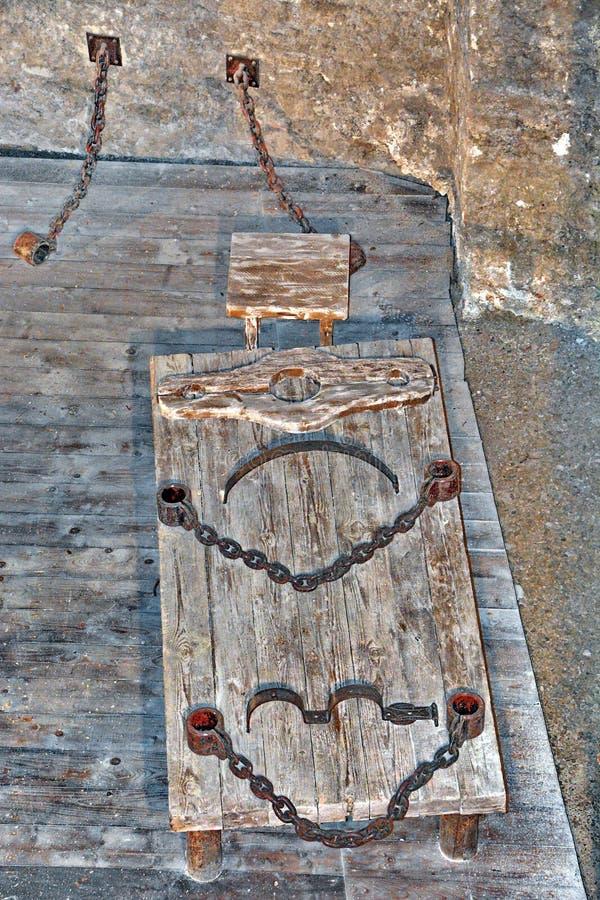 Średniowieczna tortura obraz royalty free