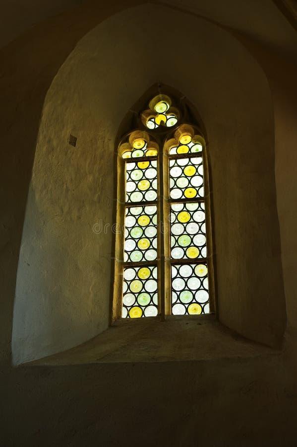 Średniowieczny castel okno obrazy royalty free