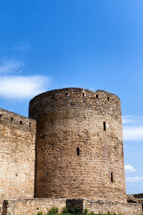 Średniowieczny forteca zdjęcia royalty free