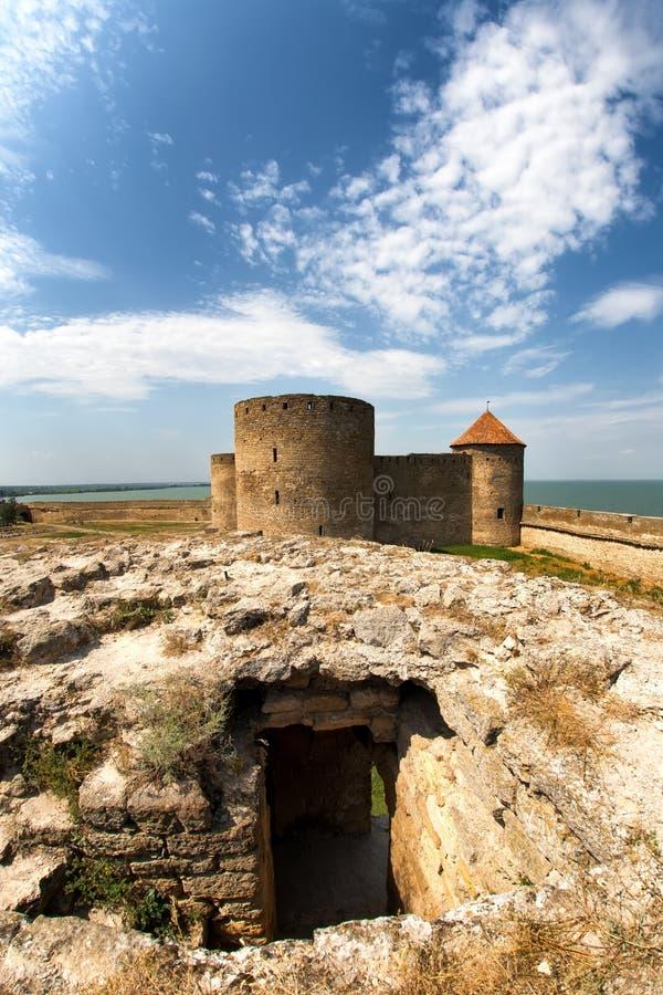 Średniowieczny forteca zdjęcie stock
