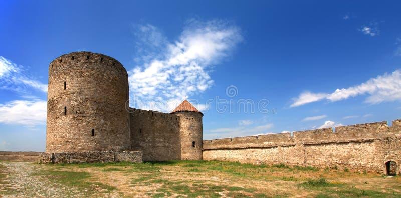 Średniowieczny forteca obraz royalty free