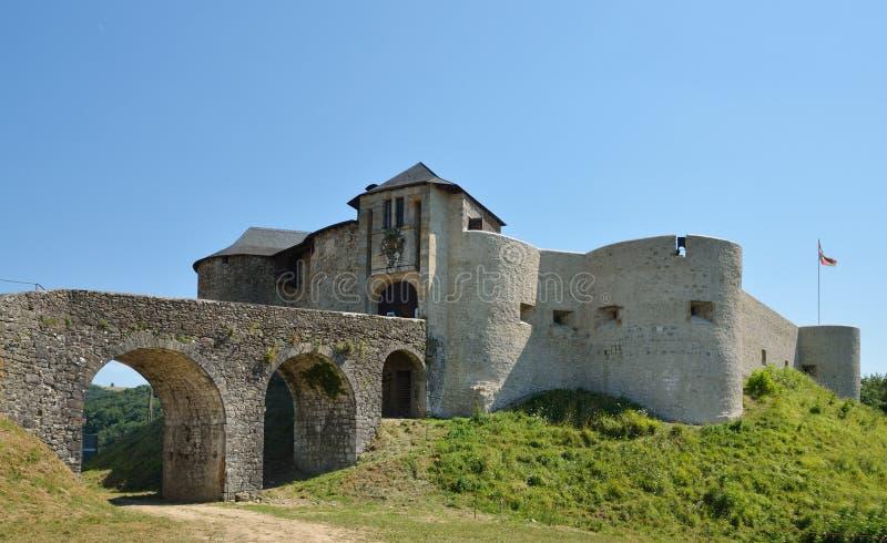 Średniowieczny forteca w pays basque obraz royalty free