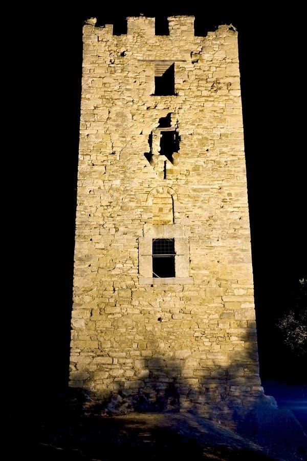 średniowieczny forteczny Greece zdjęcia royalty free