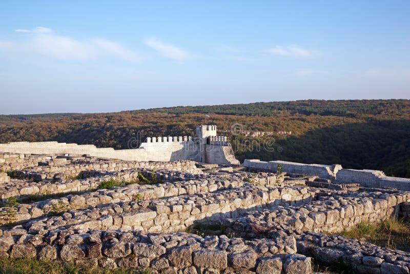 Średniowieczny forteczny Shumen obrazy stock