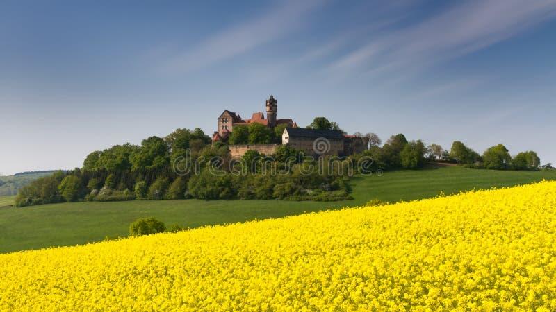 Średniowieczny Grodowy Ronneburg zdjęcia stock