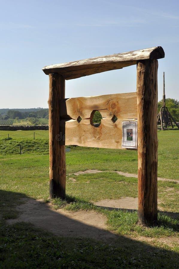 Średniowieczny instrument tortura fotografia stock