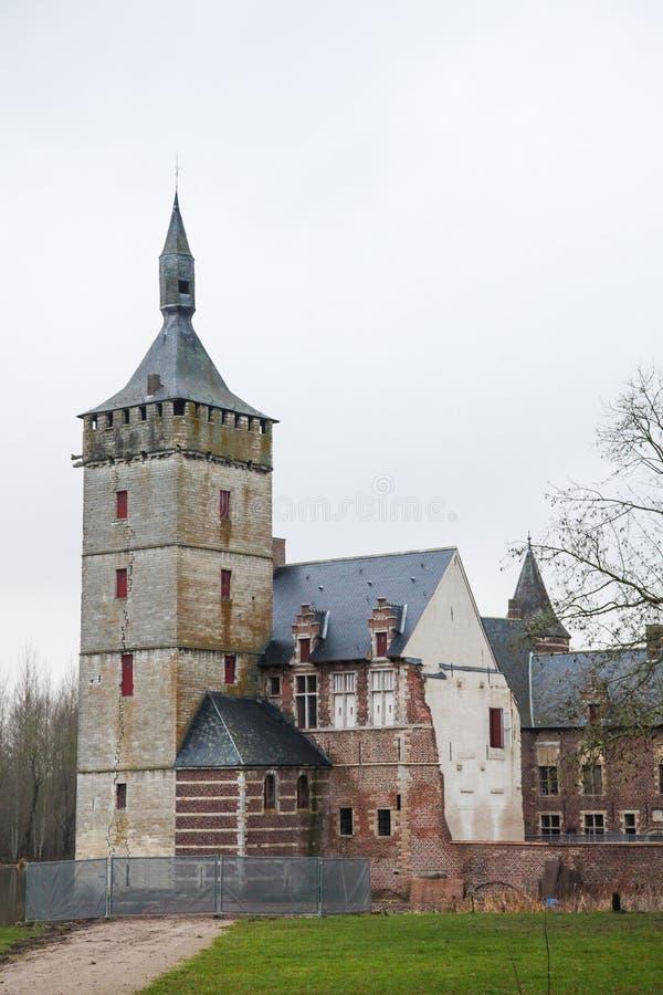 Średniowieczny kasztel obrazy royalty free