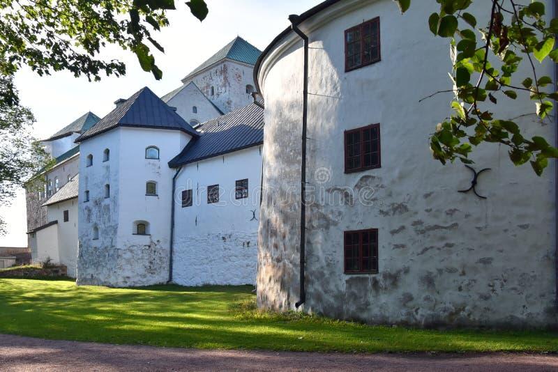 Średniowieczny kasztel w Turku, turun linna, Finlandia zdjęcia royalty free