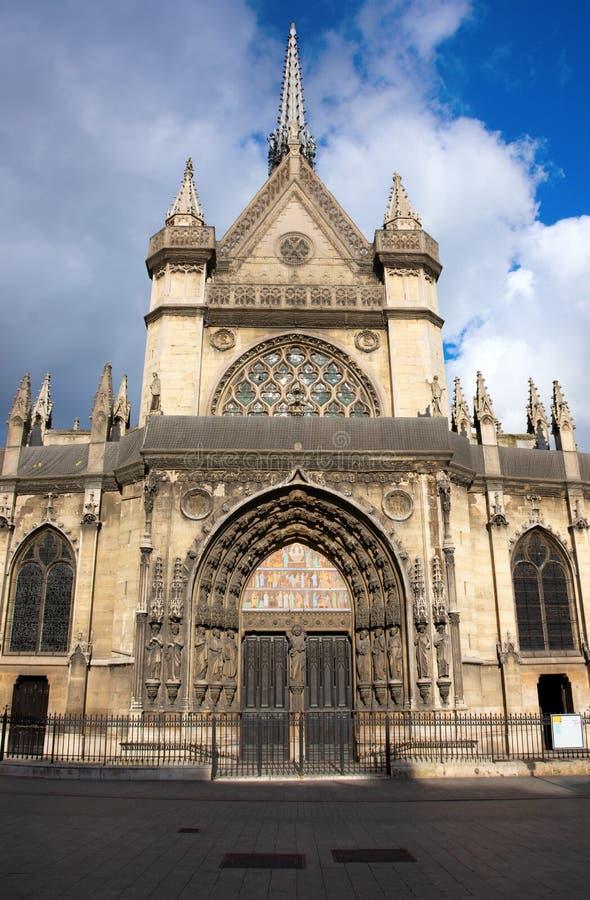 Średniowieczny kościół Saint Laurent w Paryż, Francja Repulique okręg zdjęcia royalty free