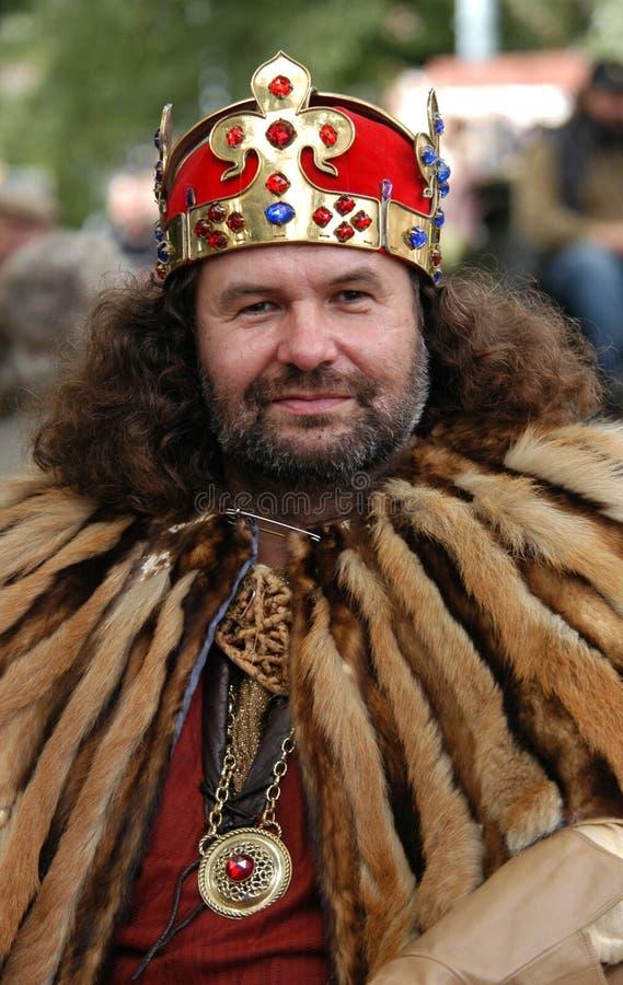 Średniowieczny Królewiątko fotografia royalty free