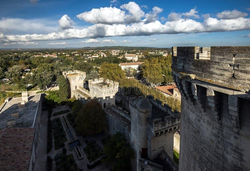 Średniowieczny królowa forteca w Tarascon, Francja. obraz royalty free