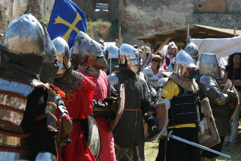 średniowieczny kultura festiwal obraz royalty free