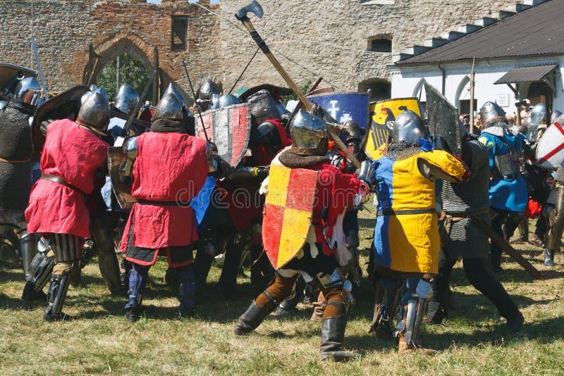 średniowieczny kultura festiwal zdjęcie stock