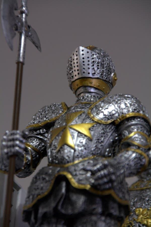 średniowieczny opancerzenie kostium fotografia royalty free