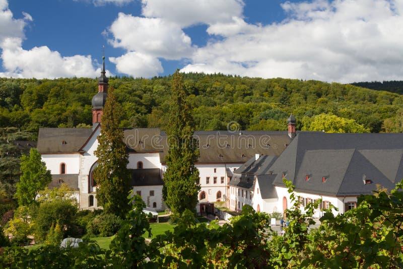 Średniowieczny przyklasztorny Eberbach obrazy stock
