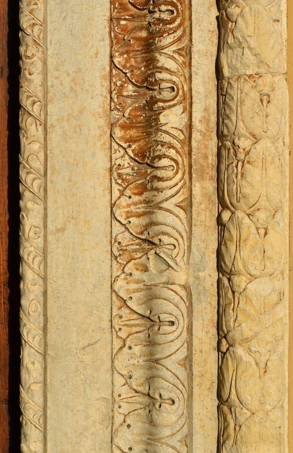 Średniowieczny wrotny tło zdjęcie royalty free