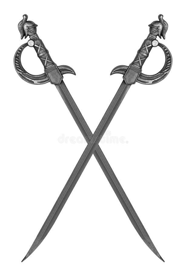 średniowiecznych miecze obraz stock