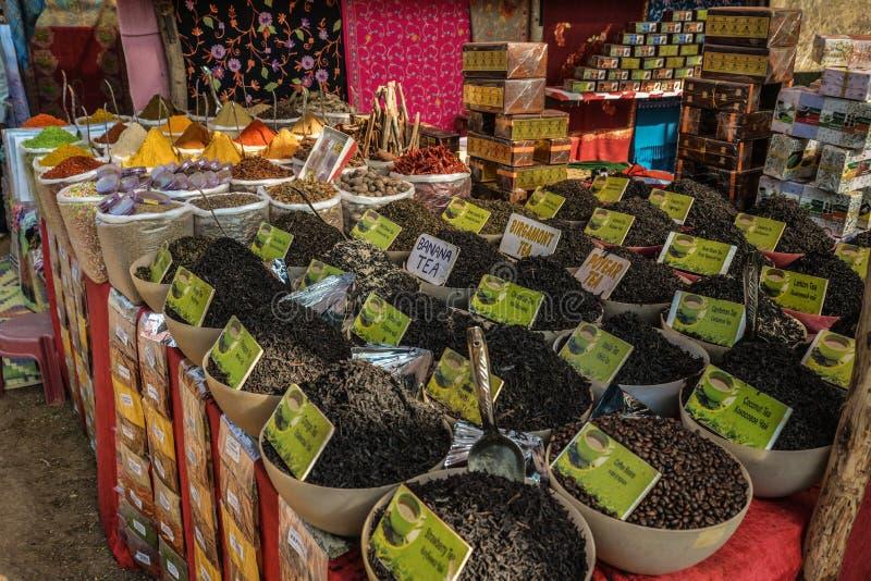 Środa rynek w Anjuna zdjęcia stock