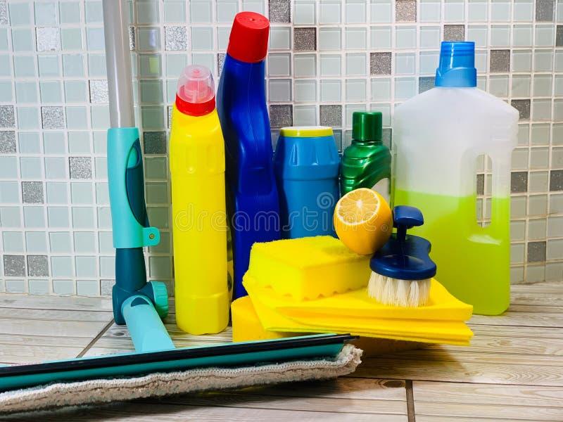 Środek czyszczący dla biura Czystość w domu zdjęcie royalty free