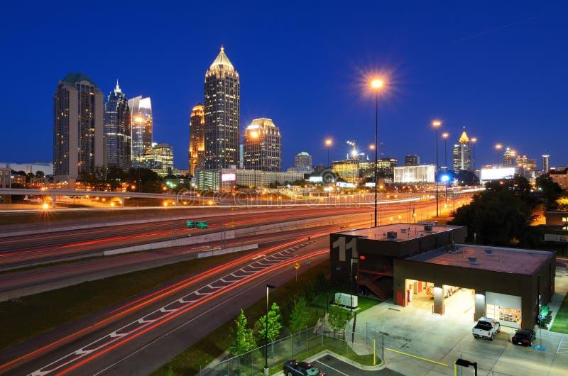 Środek miasta Atlanta obrazy stock