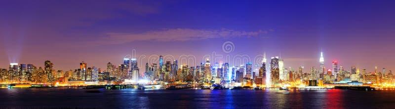 Środek miasta Manhattan fotografia royalty free