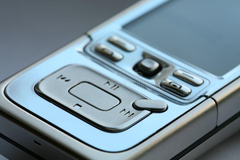 środków mp3 telefonu gracz fotografia stock