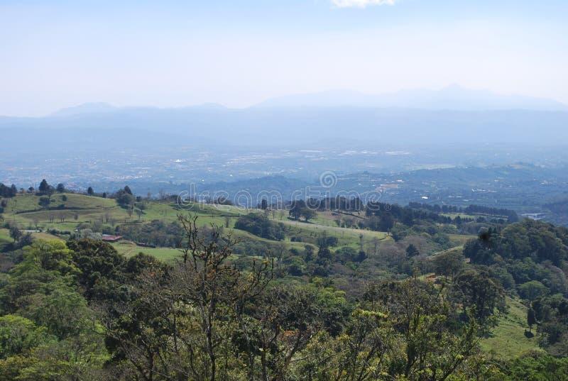 Środkowa dolina, Costa Rica zdjęcie stock