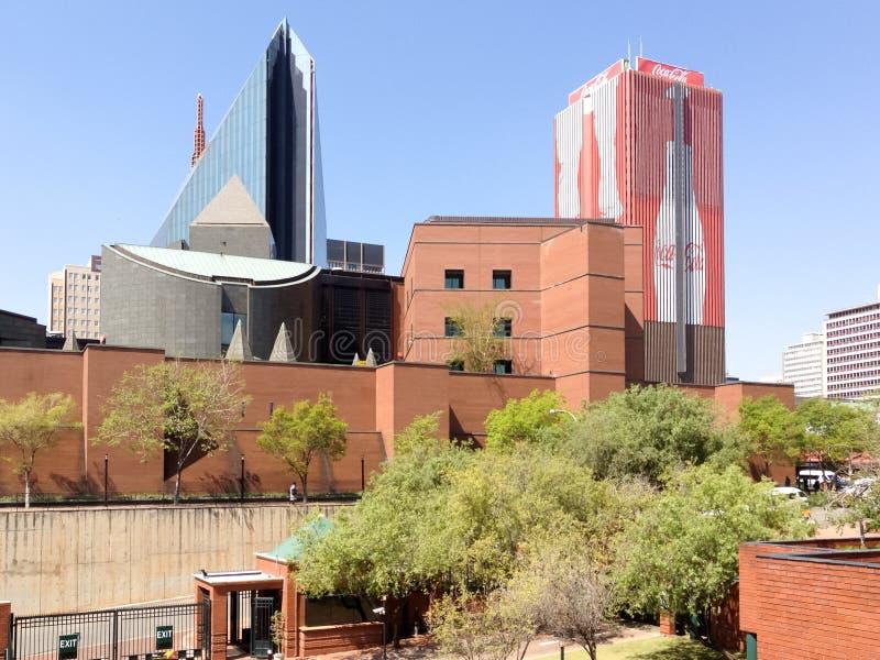 Środkowa dzielnica biznesu - Johannesburg, Południowa Afryka obraz royalty free