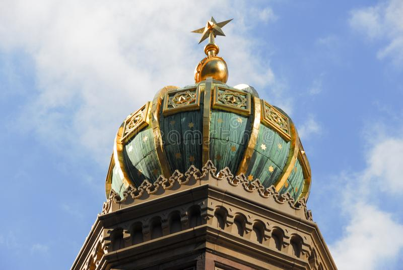 Środkowa synagoga - Miasto Nowy Jork obraz royalty free
