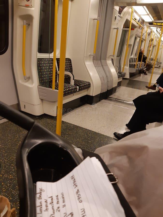 Środkowej linii pociąg Covent Garden zdjęcia stock