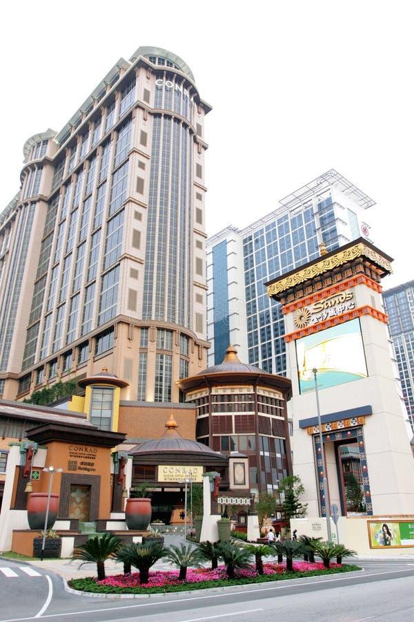 środkowi contai Macau piaski obrazy royalty free