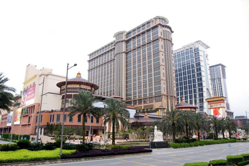 środkowi contai Macau piaski obrazy stock