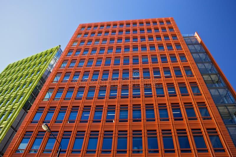 Środkowy Świątobliwy Giles jest use rozwojem w środkowy Londyn, projektujący Renzo Piano obrazy royalty free