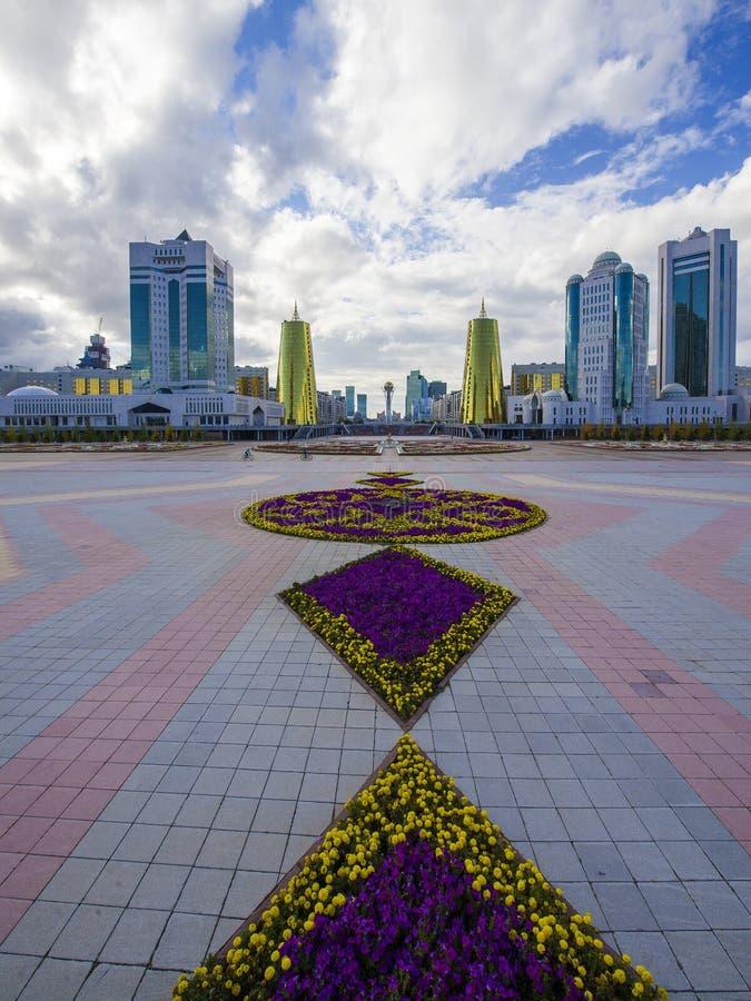 Środkowy bulval w Astana zdjęcie royalty free