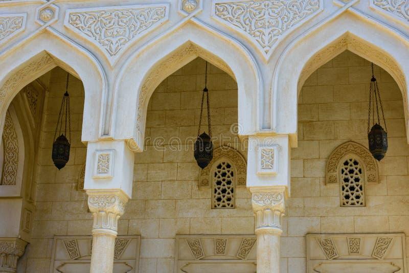 Środkowy meczet w El Dahar okręgu Hurghada miasto, Egipt obrazy royalty free