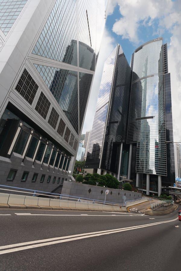 Środkowy okręg Hong Kong wyspa zdjęcia royalty free