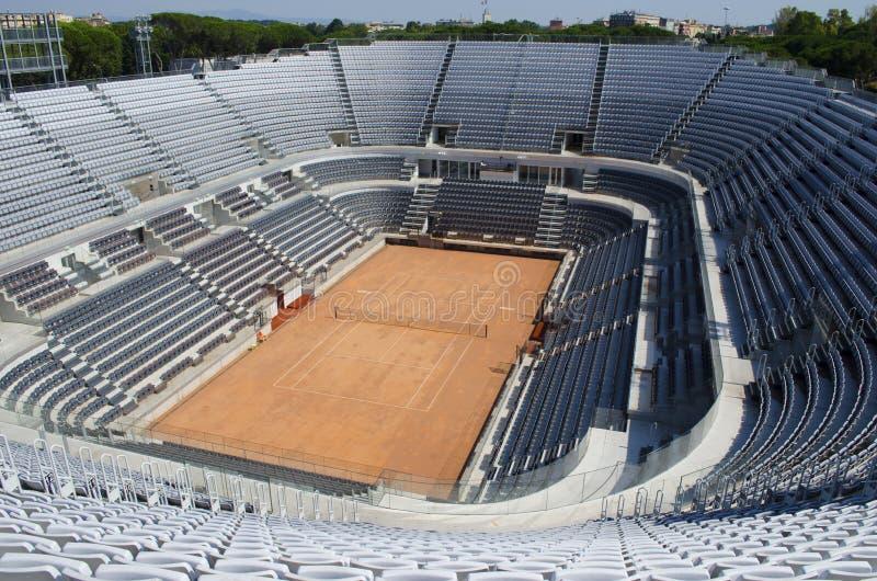 Środkowy tenisowy stadium zdjęcia stock