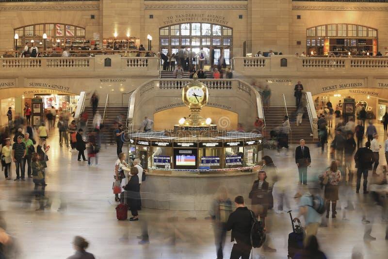 środkowy uroczysty nowy stacyjny York zdjęcie stock