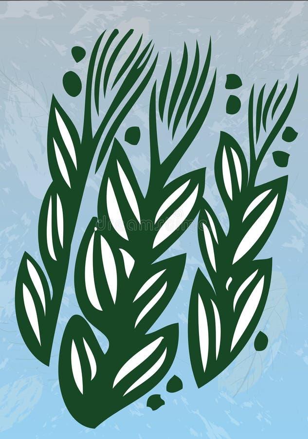 środowisko rośliien woda ilustracja wektor