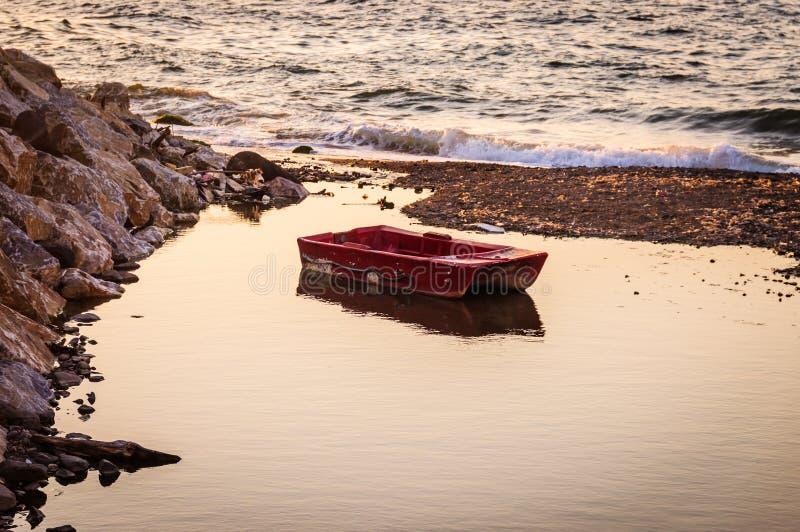 Środowisko Turecki nadmorski miasteczko fotografia stock
